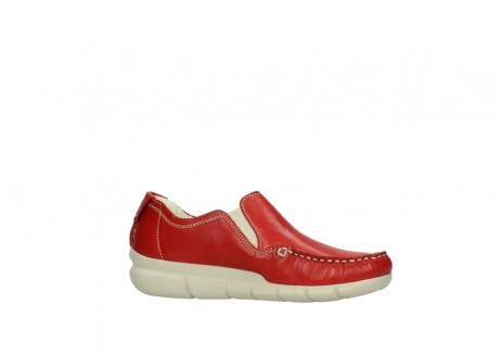 wolky slippers 1511 sekani 757 rot sommer leder_14