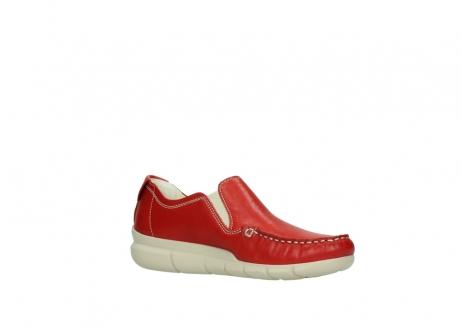 wolky slippers 1511 sekani 757 rot sommer leder_15