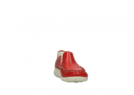 wolky slippers 1511 sekani 757 rot sommer leder_18