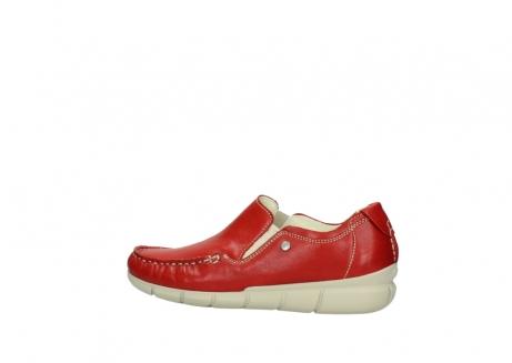 wolky slippers 1511 sekani 757 rot sommer leder_2