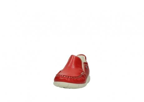 wolky slippers 1511 sekani 757 rot sommer leder_20