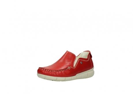 wolky slippers 1511 sekani 757 rot sommer leder_22
