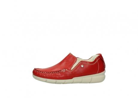 wolky slippers 1511 sekani 757 rot sommer leder_24