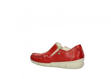 wolky slippers 1511 sekani 757 rot sommer leder_3