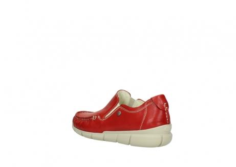wolky slippers 1511 sekani 757 rot sommer leder_4