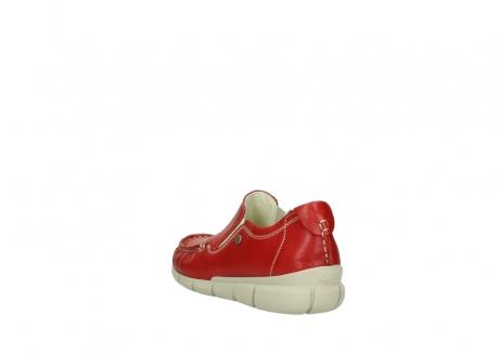 wolky slippers 1511 sekani 757 rot sommer leder_5