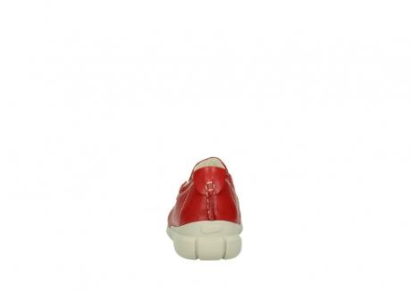wolky slippers 1511 sekani 757 rot sommer leder_7