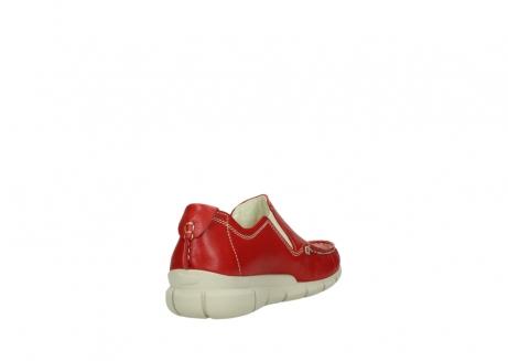 wolky slippers 1511 sekani 757 rot sommer leder_9