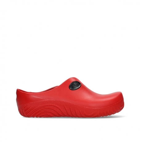 wolky klompen 02550 ok clog klomp 90500 rood pu