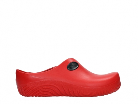 wolky klompen 02550 ok clog klomp 90500 rood pu_1