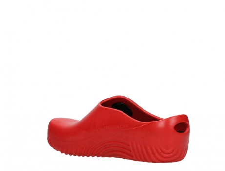 wolky klompen 02550 ok clog klomp 90500 rood pu_16