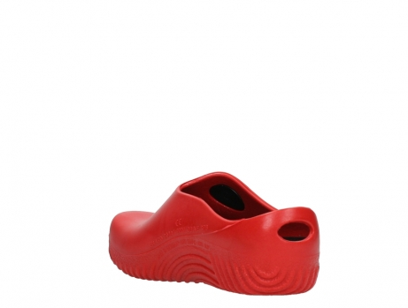 wolky klompen 02550 ok clog klomp 90500 rood pu_17