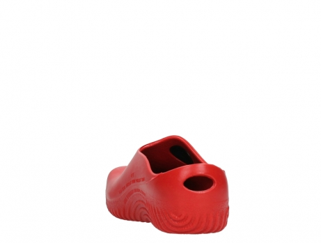 wolky klompen 02550 ok clog klomp 90500 rood pu_18
