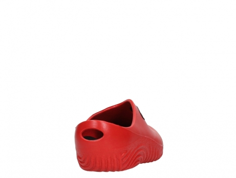 wolky klompen 02550 ok clog klomp 90500 rood pu_20