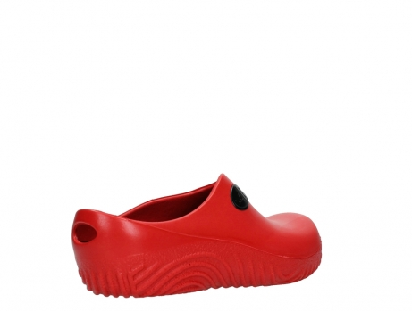 wolky klompen 02550 ok clog klomp 90500 rood pu_22