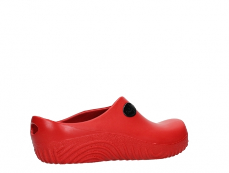 wolky klompen 02550 ok clog klomp 90500 rood pu_23