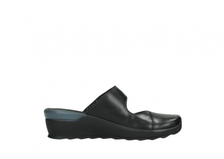 wolky clogs 02576 up 20000 schwarz leder_13
