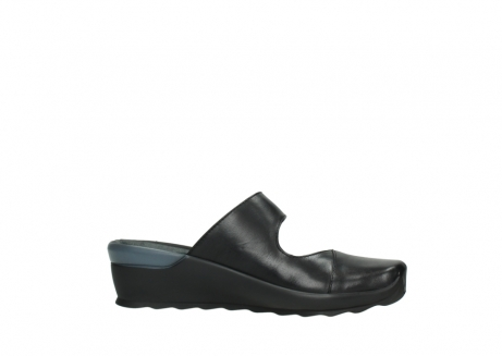 wolky clogs 02576 up 20000 schwarz leder_14