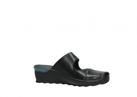 wolky clogs 02576 up 20000 schwarz leder_15