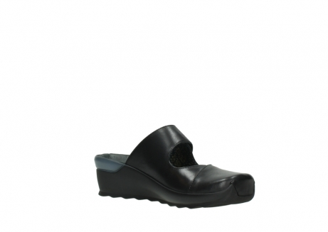 wolky clogs 02576 up 20000 schwarz leder_16