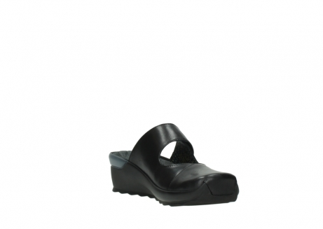 wolky clogs 02576 up 20000 schwarz leder_17