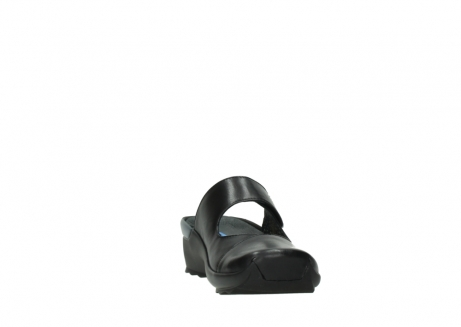 wolky clogs 02576 up 20000 schwarz leder_18