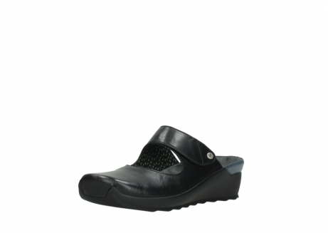 wolky clogs 02576 up 20000 schwarz leder_22