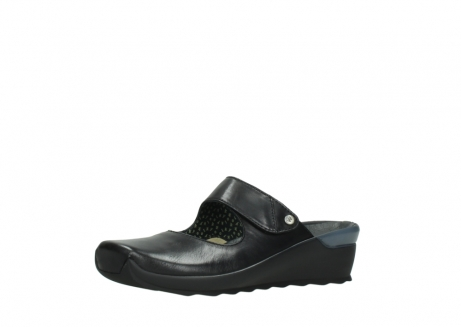 wolky clogs 02576 up 20000 schwarz leder_23