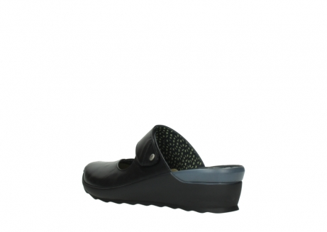 wolky clogs 02576 up 20000 schwarz leder_4