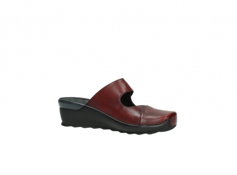 wolky clogs 02576 up 20500 rot leder_15