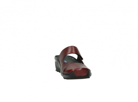 wolky clogs 02576 up 20500 rot leder_18