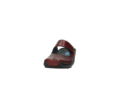 wolky clogs 02576 up 20500 rot leder_20