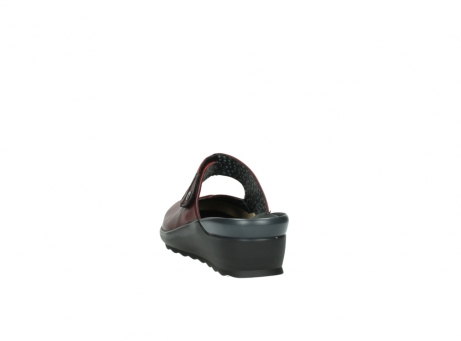 wolky clogs 02576 up 20500 rot leder_6