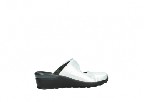 wolky clogs 02576 up 30130 silber leder_12