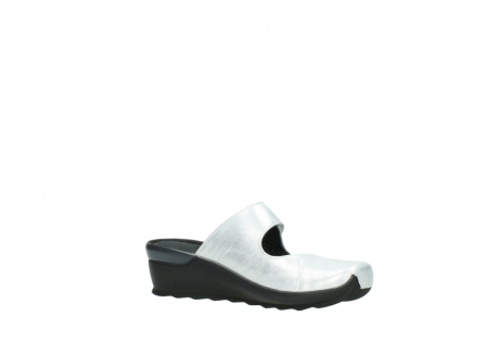 wolky clogs 02576 up 30130 silber leder_15