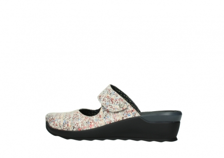 wolky clogs 02576 up 40912 offwhite multi suede_2
