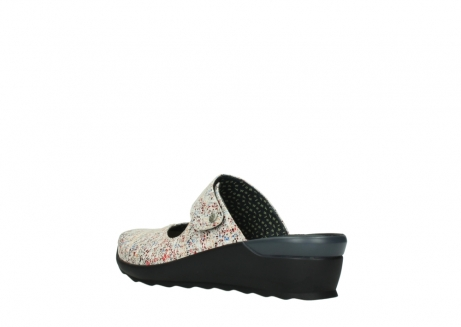wolky clogs 02576 up 40912 offwhite multi suede_4