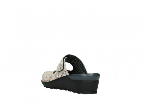 wolky clogs 02576 up 40912 offwhite multi suede_5