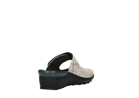 wolky clogs 02576 up 40912 offwhite multi suede_9