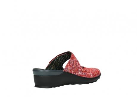 wolky clogs 02576 up 40950 rot multi suede_10