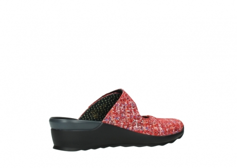 wolky clogs 02576 up 40950 rot multi suede_11