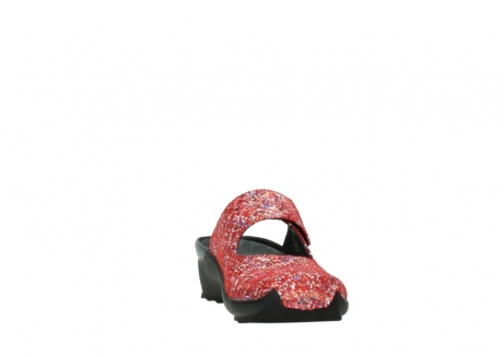 wolky klompen 02576 up 40950 rood multi suede_18