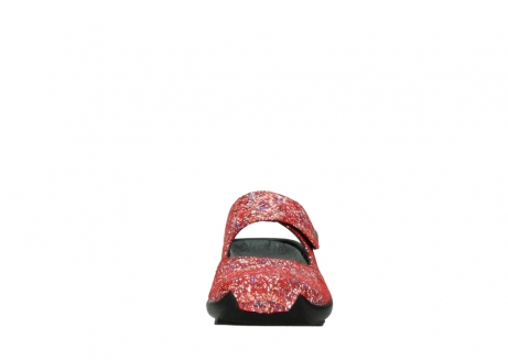 wolky klompen 02576 up 40950 rood multi suede_19