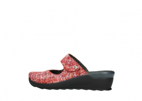 wolky klompen 02576 up 40950 rood multi suede_2