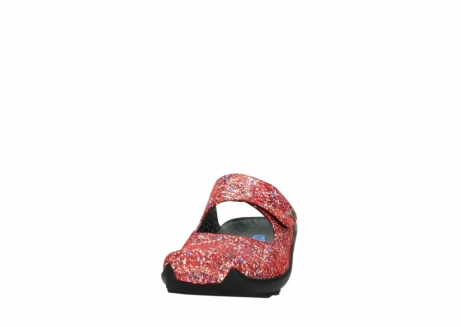 wolky klompen 02576 up 40950 rood multi suede_20