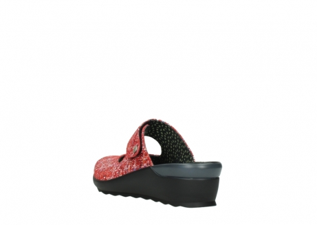 wolky klompen 02576 up 40950 rood multi suede_5