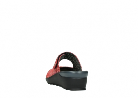 wolky klompen 02576 up 40950 rood multi suede_6