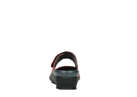 wolky klompen 02576 up 40950 rood multi suede_7