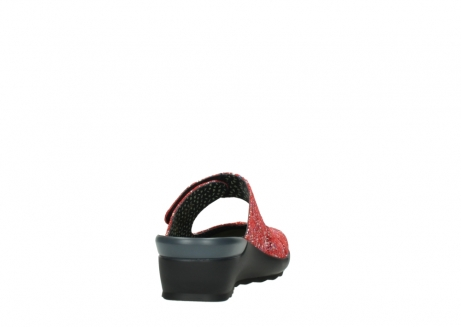 wolky klompen 02576 up 40950 rood multi suede_8