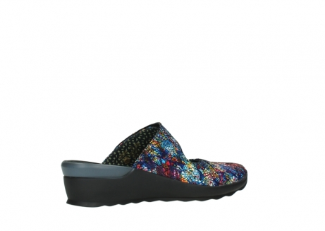 wolky clogs 02576 up 40970 multi black metallic leather_11